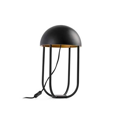 JELLYFISH Black and gold table lamp Faro