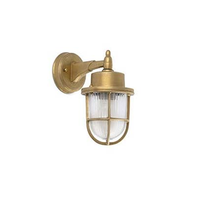 NAHIR Brass wall lamp Faro