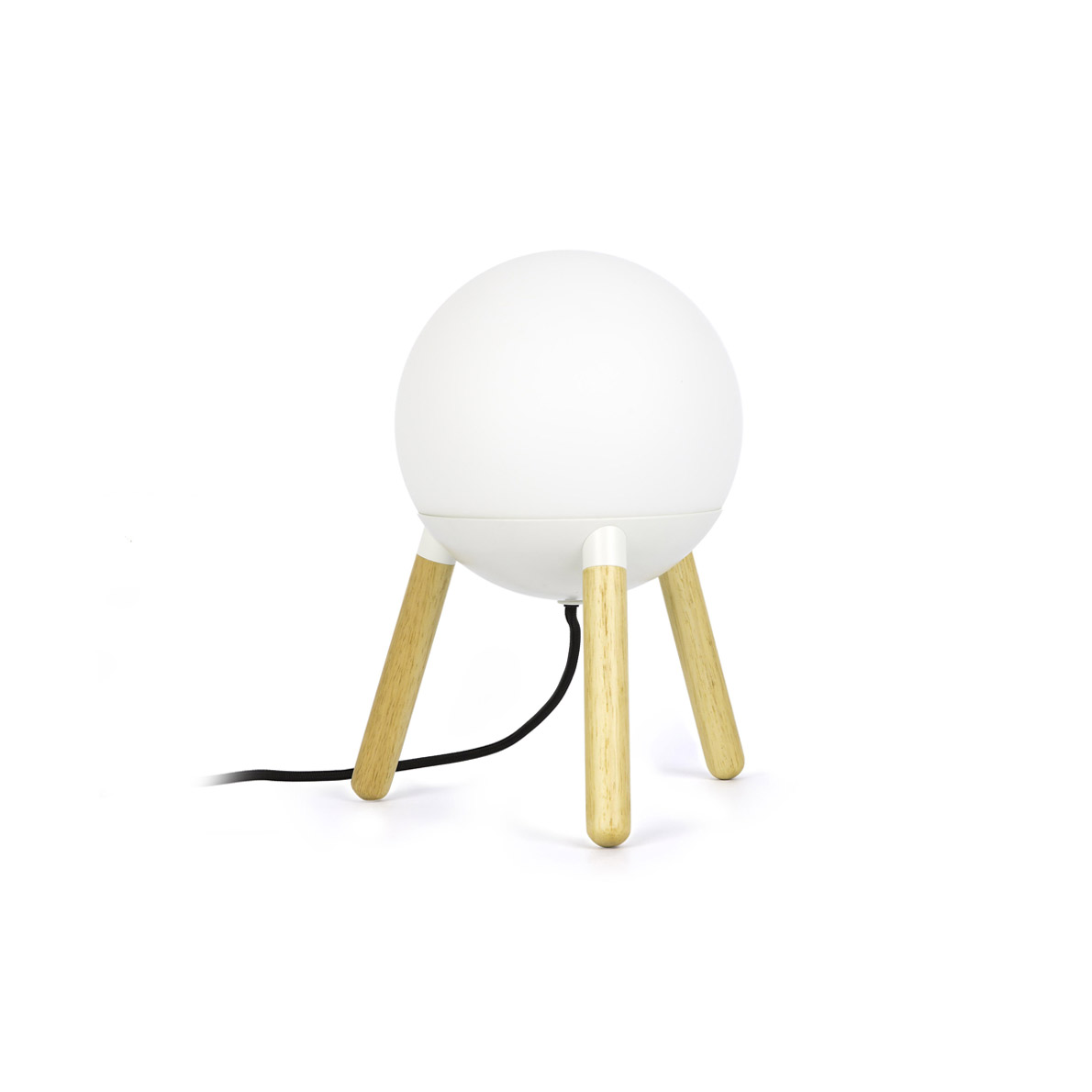 MINE PC WHITE TABLE LAMP WITHPOUT DIFFUSOR