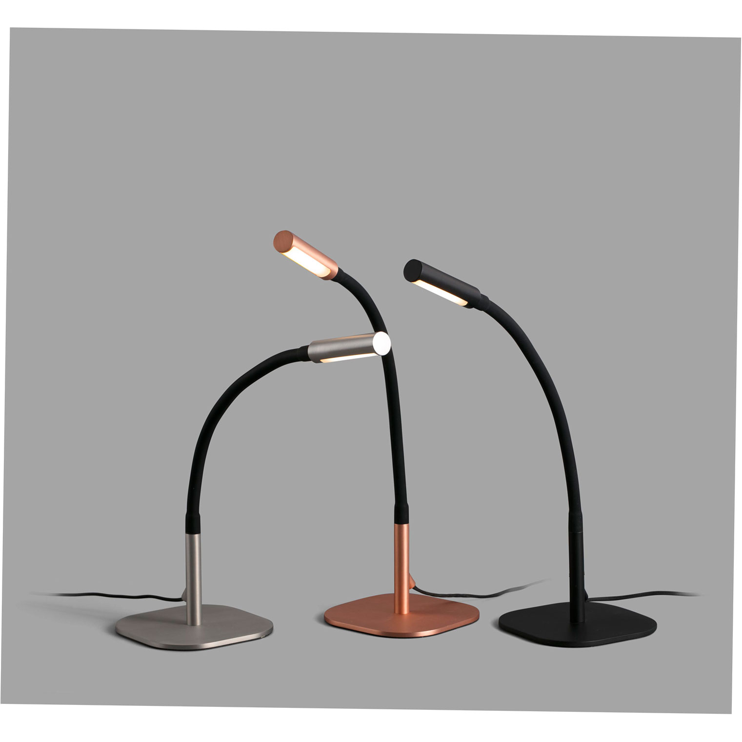 SERP TABLE LAMP BLACK LED 4W 3000K