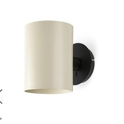 LUPE Black structure wall lamp Faro