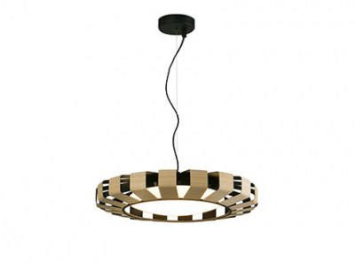 PAULINE LED Wood pendant lamp Faro