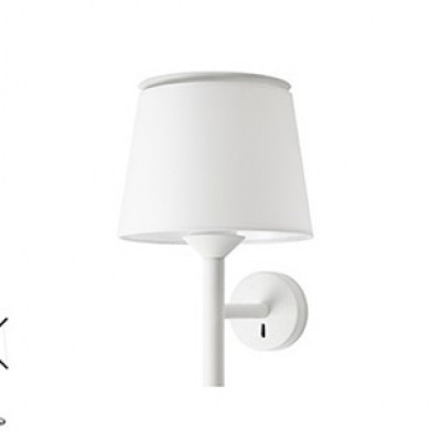 SAVOY White structure wall lamp Faro