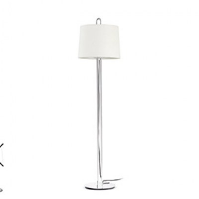 MONTREAL Chrome structure floor lamp Faro