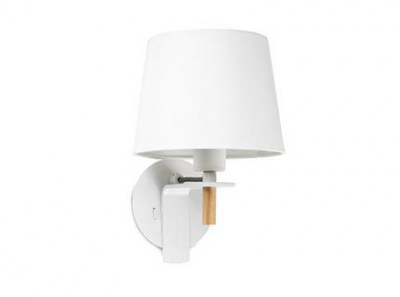 FUSTA White wall lamp Faro