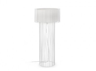 LINDA White floor lamp Faro