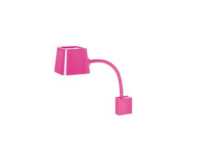 FLEXI Fuchsia wall lamp Faro