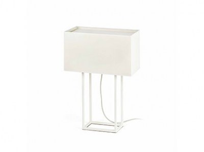 VESPER White table lamp Faro