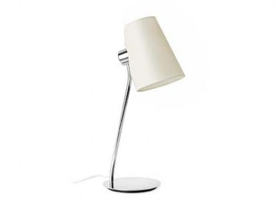 LUPE Chrome table lamp Faro