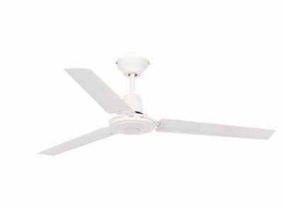 ECO INDUS White ceiling fan Faro