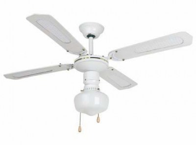 ARUBA White ceiling fan Faro