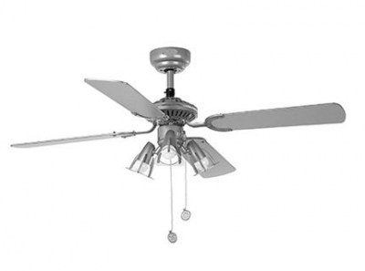 JACA Grey ceiling fan Faro