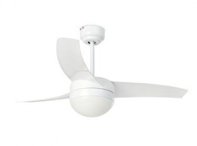 EASY White ceiling fan Faro
