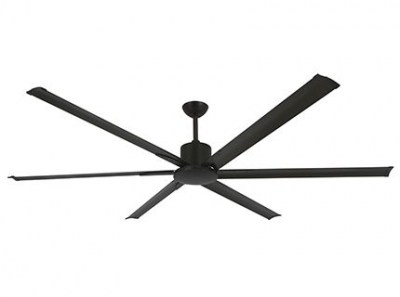 ANDROS Brown ceiling fan with DC motor Faro