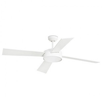 HYDRA LED White ceiling fan with DC motor Faro
