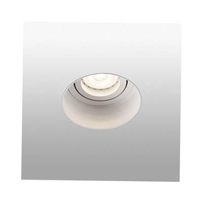 HYDE Trimless white orientable round recessed lamp without frame Faro