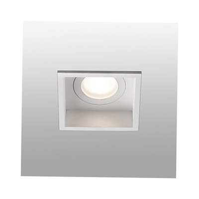 HYDE White square recessed lamp Faro