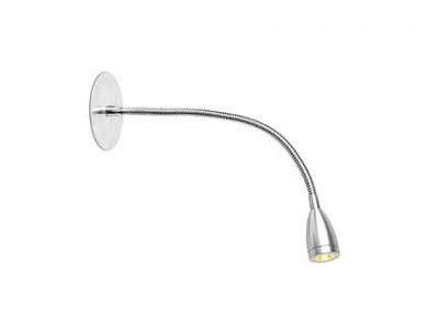 LOKE-3 LED Chrome recessed lamp Faro