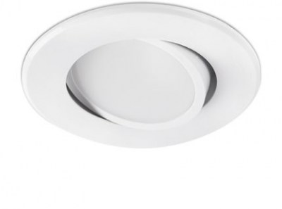 KOI LED White orientable recessed lamp Faro