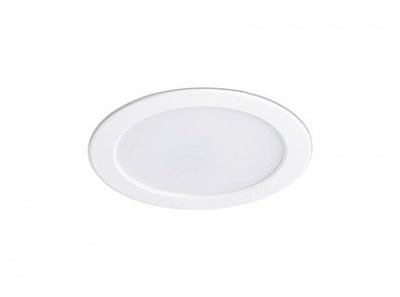 TED LED White recessed lamp Faro