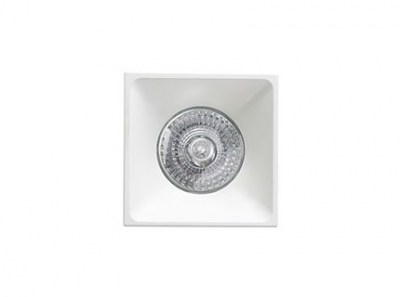 NEÓN-C White recessed lamp Faro