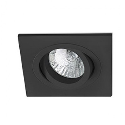RADÓN-C Black recessed lamp Faro