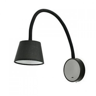 BLOME LED Black wall lamp Faro