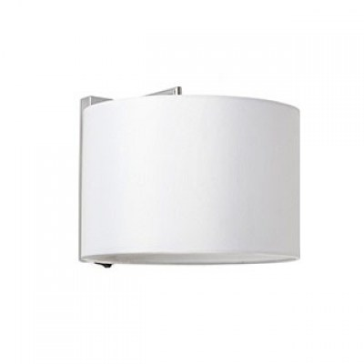SAHARA Chrome/white wall lamp Faro