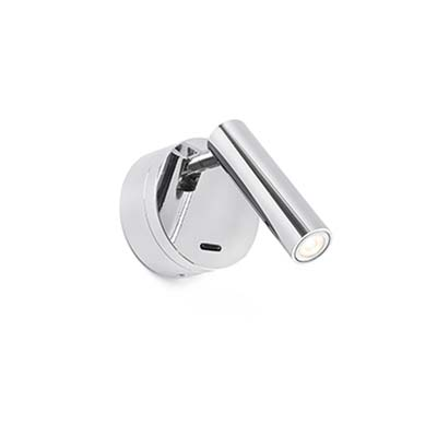 BOC LED Chrome wall lamp reader Faro