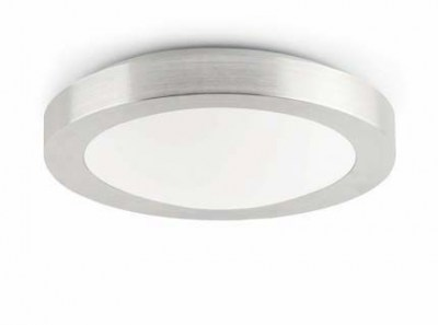 LOGOS-1 Grey ceiling lamp Faro