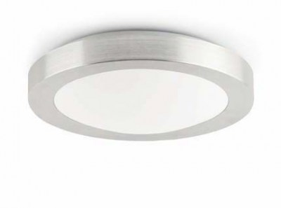 LOGOS-2 Grey ceiling lamp Faro