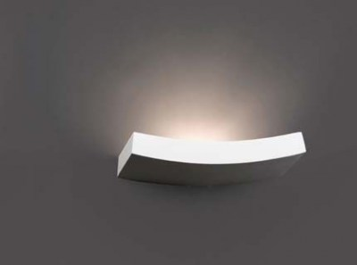 EACO-3 White wall lamp Faro