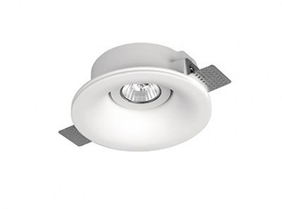 NEU White recessed lamp Faro