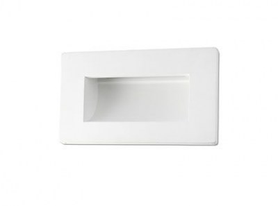 MALMO LED White recessed lamp Faro