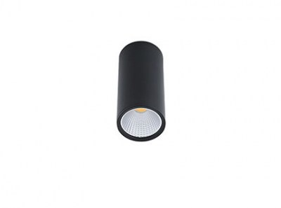 REL-P LED Black ceiling lamp Faro