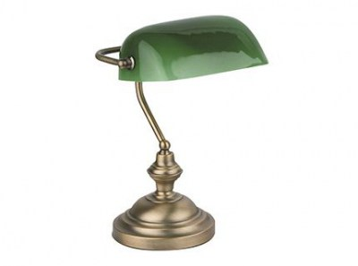 BANKER Bronze table lamp Faro