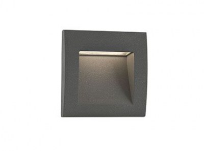 SEDNA-3 LED Dark grey recessed lamp Faro