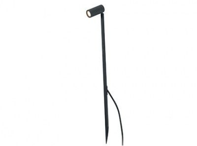 SETH LED Black spike lamp H 60cm Faro