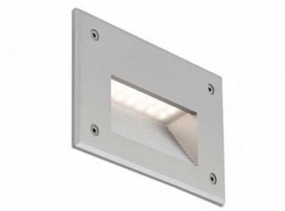 STORE LED Grey recessed lamp warm light Faro