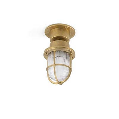 MAUREN Brass ceiling/ post lamp Faro