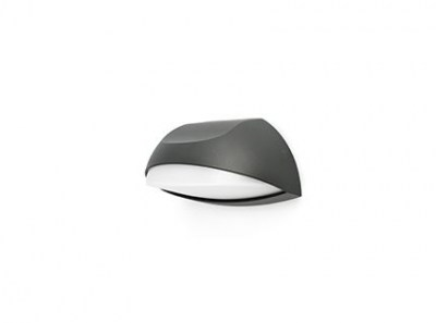 NUM LED Dark grey wall lamp Faro