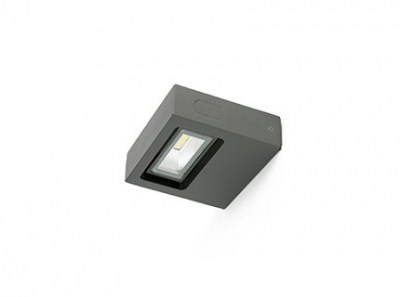 TAIMA LED Dark grey wall lamp Faro