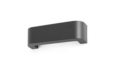 BRACKET LED Dark grey wall lamp Faro