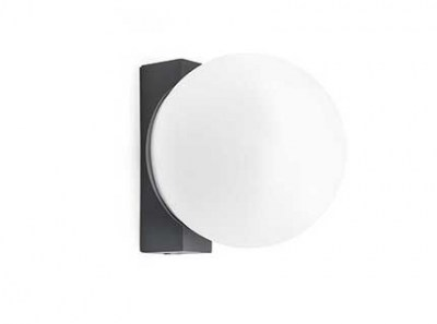 ROUNDER LED Dark grey wall lamp Faro