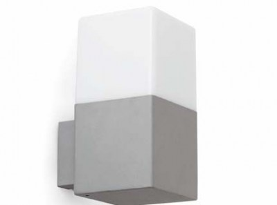 TARRACO Grey wall lamp Faro