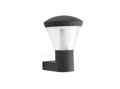 SHELBY LED Dark grey wall lamp Faro