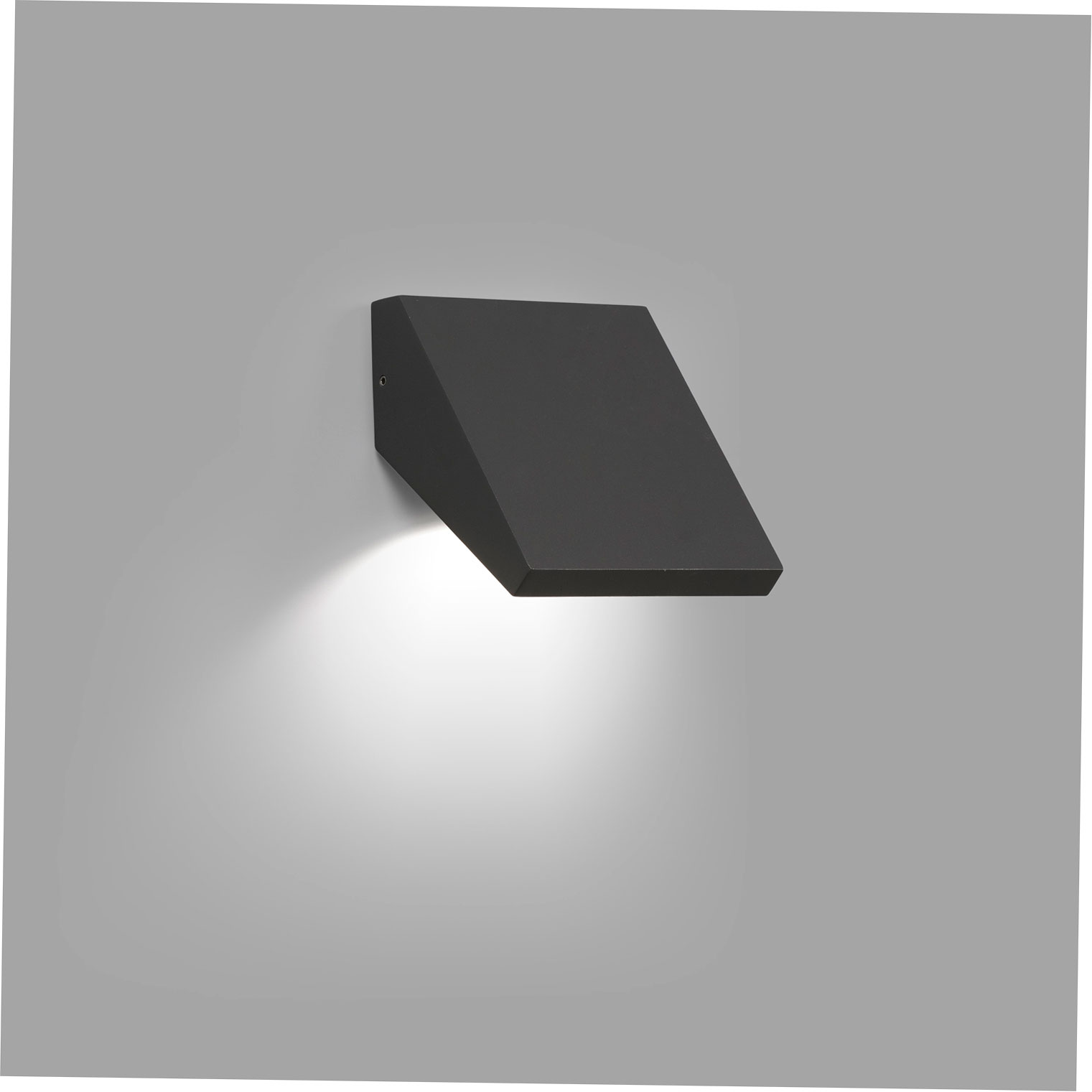 GUIZA WALL LAMP DARK GREY LED 10W 3000K