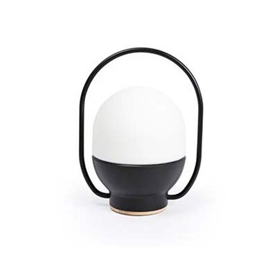 TAKE AWAY LED Black portable lamp Faro