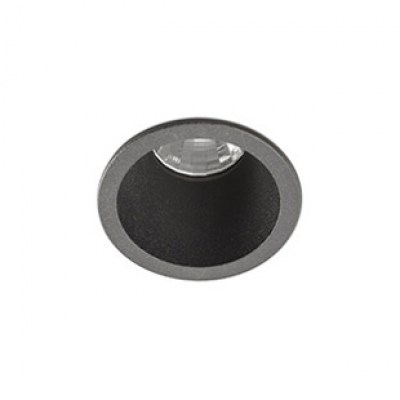 FOX black recessed 2700K Faro