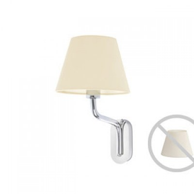 ETERNA Chrome structure wall lamp Faro